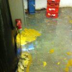 sollte ihr Keller so aussehen ist vermutlich der Rückstauschutz defekt